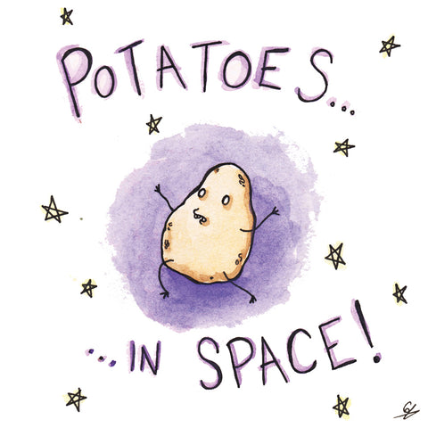 Potatoes in Space!