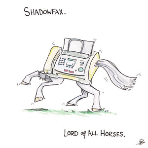 Shadowfax. Lord of all Horses.