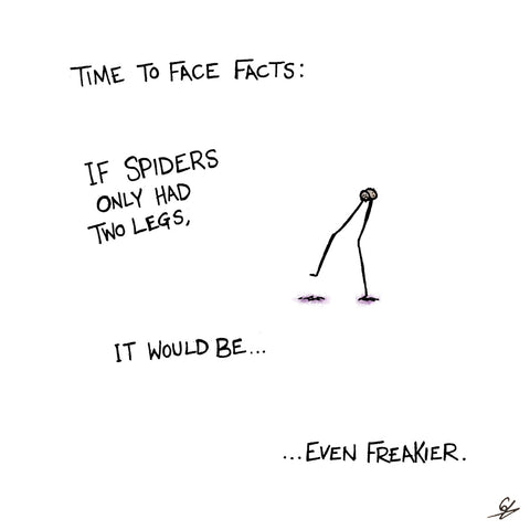 Two legged spiders