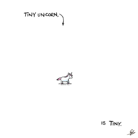 Tiny Unicorn, is Tiny.