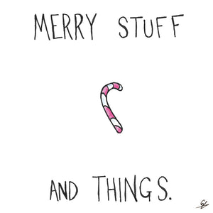 Candy Cane - Merry Stuff and Things
