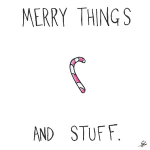 Candy Cane - Merry Things and Stuff