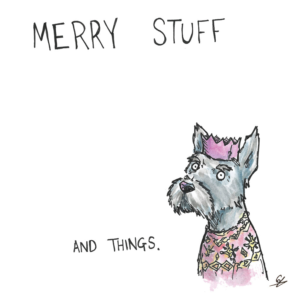 Merry Stuff and Things - Dog Jumper
