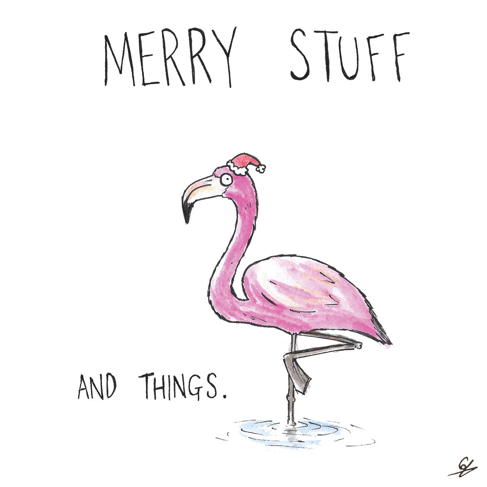 Flamingo - Merry Stuff and Things