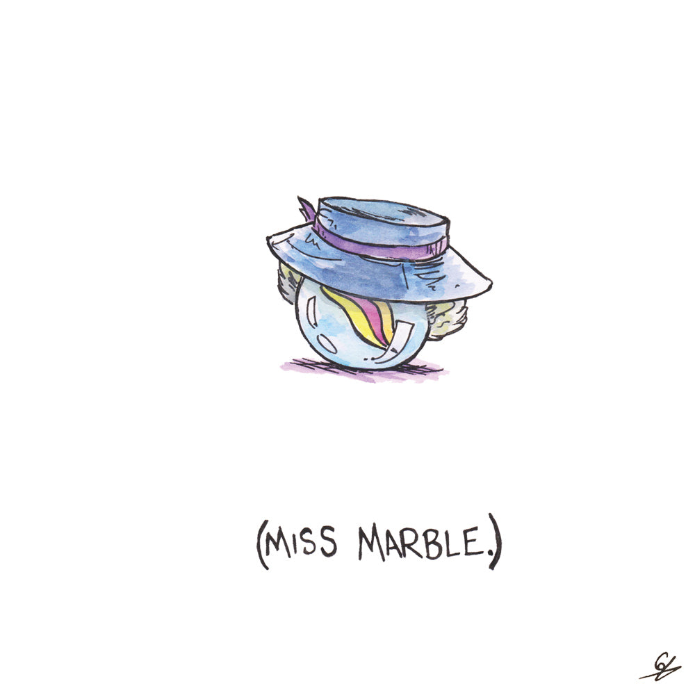 (Miss Marble.)