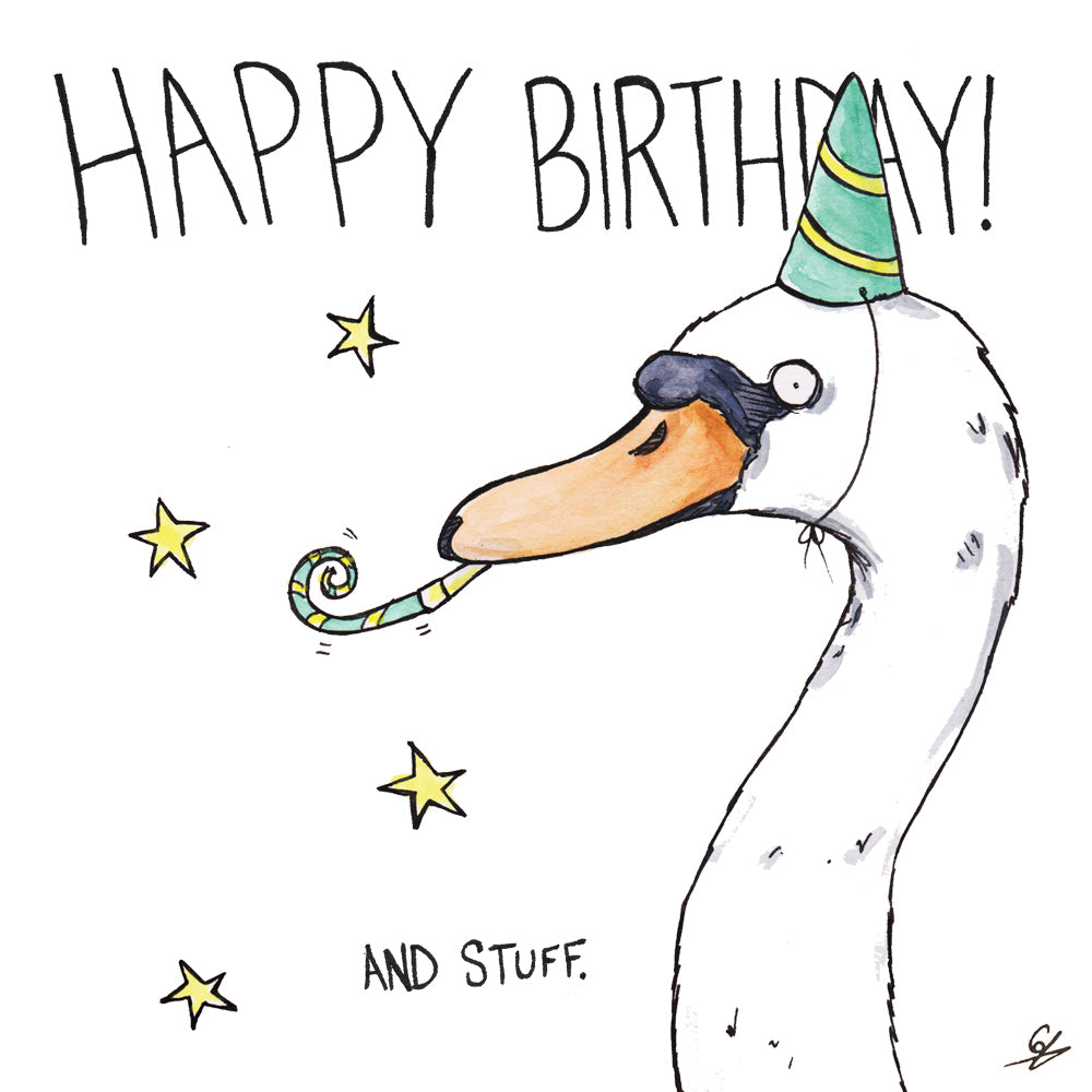 Image result for happy birthday with swans