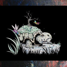 Load image into Gallery viewer, Tortoise Swing - A3 Print