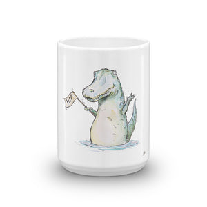 Hi Alligator Mug