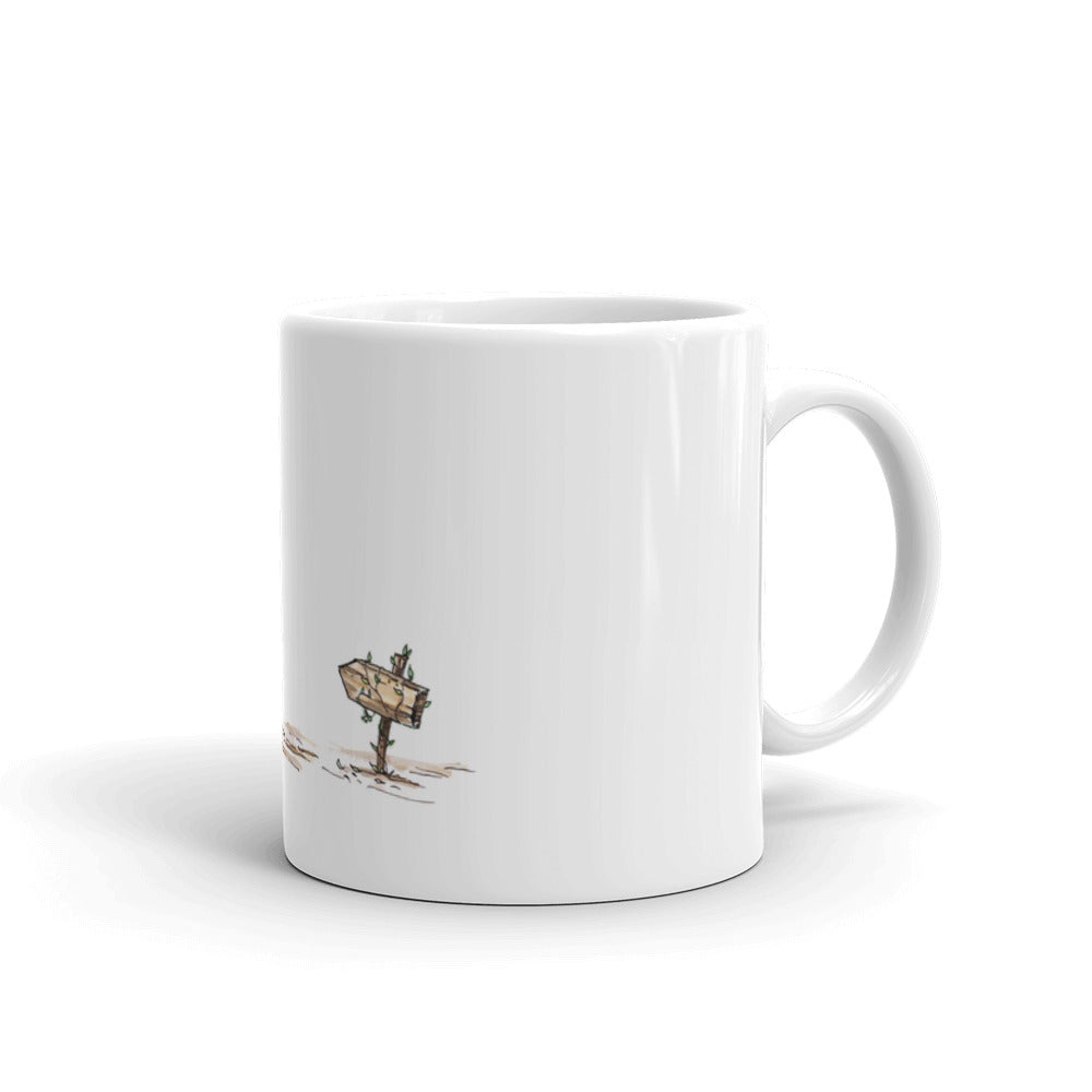Mouse King Sign Mug