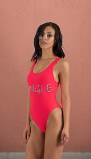 Virginia Beach Single Bathing Suit