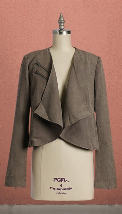 London Tan Suede Blazer