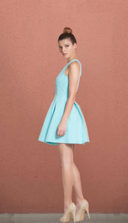 The Hamptons Light Blue Skater Dress