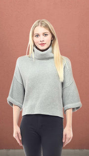 Terminal C High Low Sweater