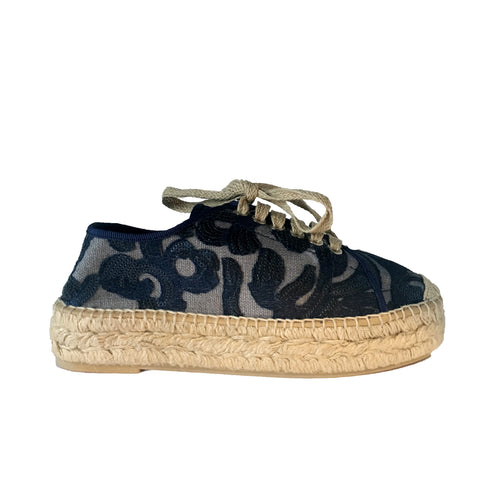 Kanna, Amatista Embroidered Espadrilles