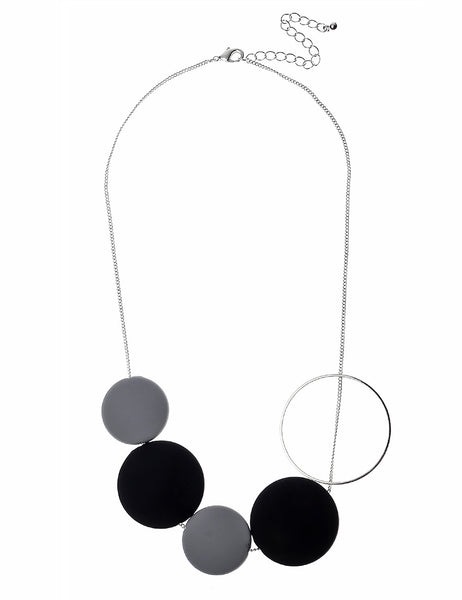 Necklace with Assorted Circles