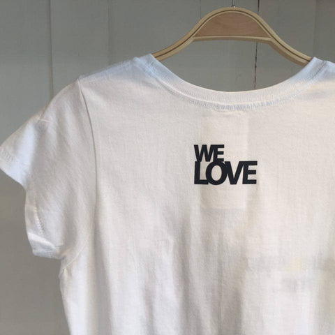 We Love, Pineapple White Tee