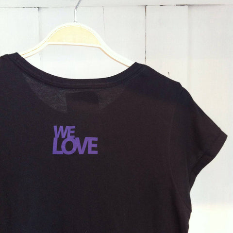 We Love, Turtle Black Tee