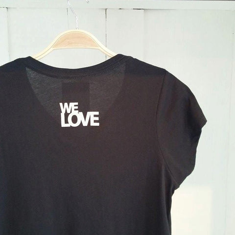 We Love, Flamingo Black Tee
