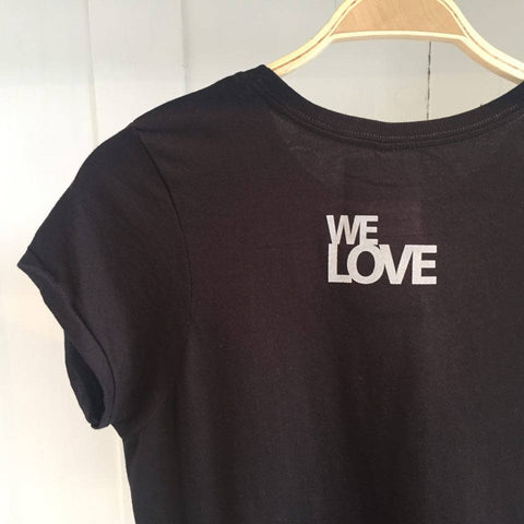 We Love, Pineapple Black Tee