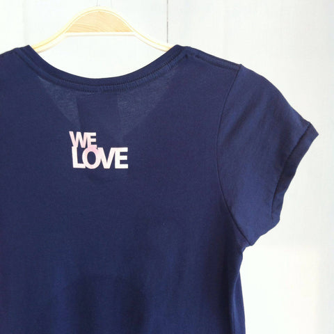 We Love, Flamingo Navy Tee