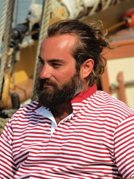 Nantucket Whaler Beach Stripe Henley