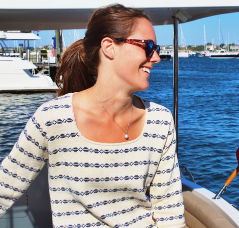 Nantucket Whaler Fair Isle Sweater
