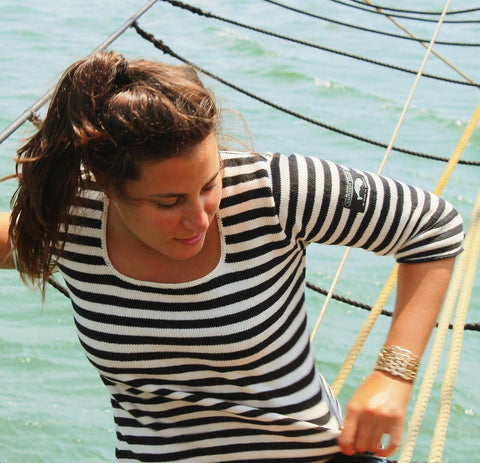 Nantucket Whaler Stripe Sweater