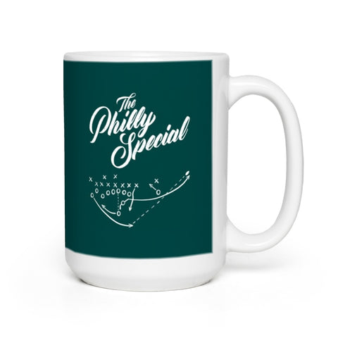 * Philly Special Green Mugs