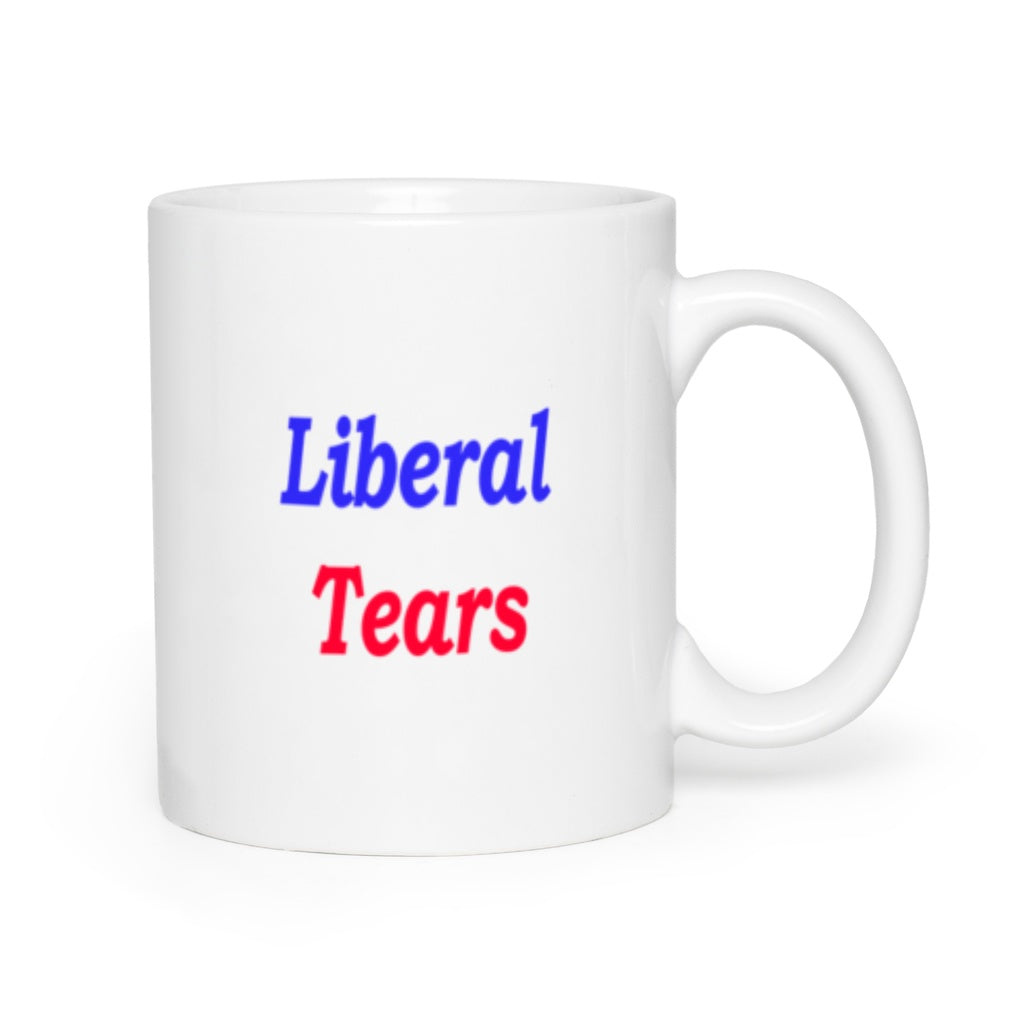 * Red White and Blue Liberal Tears Mugs