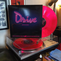 DRIVE - Official Soundtrack (5th Anniversary Edition 'Neon Pink' Vinyl + Inner Booklet)