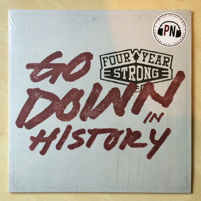 FOUR YEAR STRONG - Go Down In History (Ltd Edition Tri-Colour & Etched Vinyl EP + Free Digital Copy)