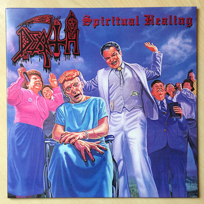 DEATH - Spiritual Healing (Ltd Edition Repress LP + 4page Pullout + Free Digital Copy)