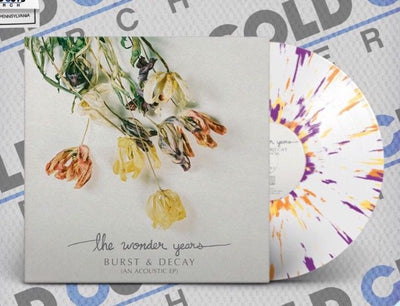 "THE WONDER YEARS - ""'Burst & Decay (An Acoustic EP)"" (Limited Edition Vinyl EP)"