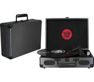 VINYL STYL - Portable 3xSpeed Turntable (Graphite)