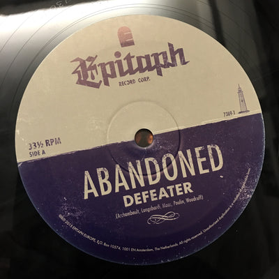 DEFEATER – Abandoned (Ltd. Edition Colour Vinyl LP)