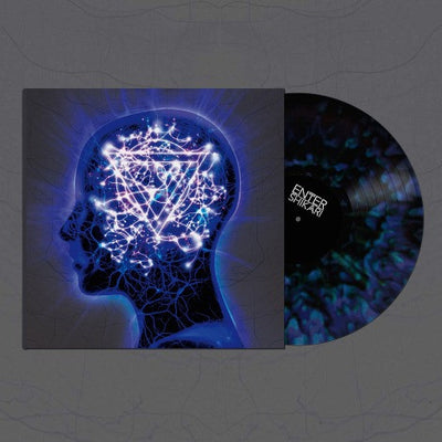 ENTER SHIKARI - The Mindsweep (Ltd Edition 180g Transparent Blue In Blue Vinyl LP + Free CD)