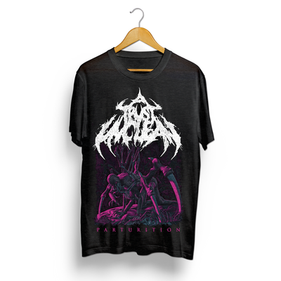 A TRUST UNCLEAN - Parturition (T-Shirt + CD Bundle)