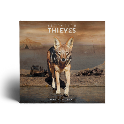ATTENTION THIEVES - Year Of The Jackal (CD Album + Instant Free Digital Copy)