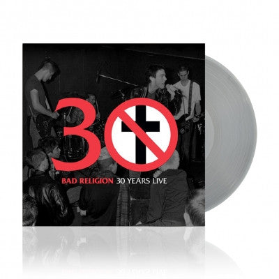 BAD RELIGION - 30 Years Live (Ltd Edition Silver Vinyl LP)
