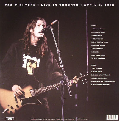 "FOO FIGHTERS - ""Down In Toronto"" (Limited Edition Deluxe x2 Vinyl LP)"
