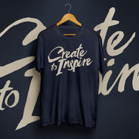 "CREATE TO INSPIRE - ""Sickness"" (Limited Edition Album T-Shirt)"