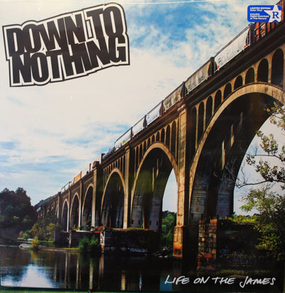 DOWN TO NOTHING - 'Life On The James' (Limited Edition Vinyl LP)