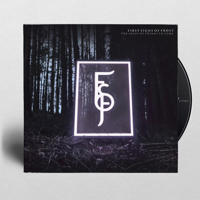 "FIRST SIGNS OF FROST - ""The Shape Of Things To Come"" (4 Panel Digipak CD)"
