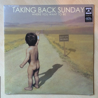 TAKING BACK SUNDAY - Where You Want To Be (2nd Pressing Black Vinyl LP)