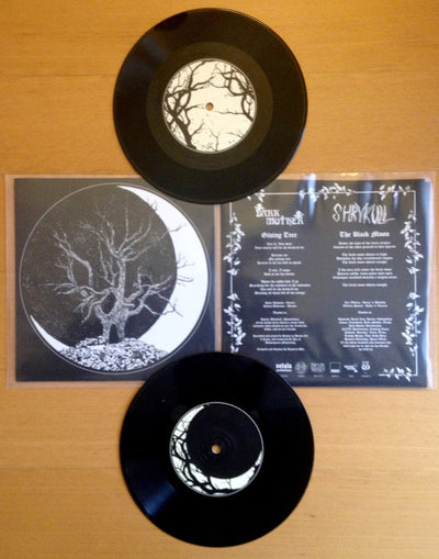 "DARK MOTHER / SHRYKULL - ""Split EP"" (Limited Edition Split 7"" EP)"