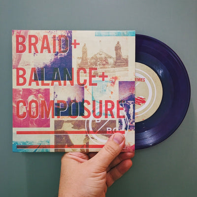 "BALANCE & COMPOSURE / BRAID - ""Split EP"" (Limited Edition 7"" EP)"