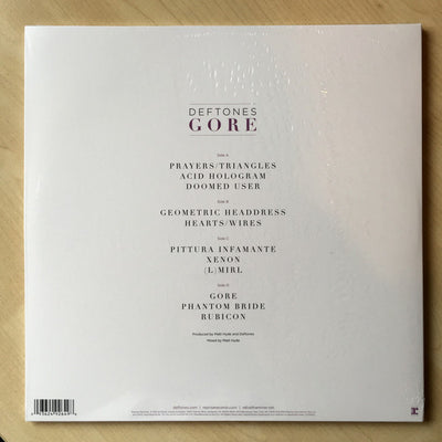 DEFTONES - Gore (Limited Edition 140g Black Double Vinyl)