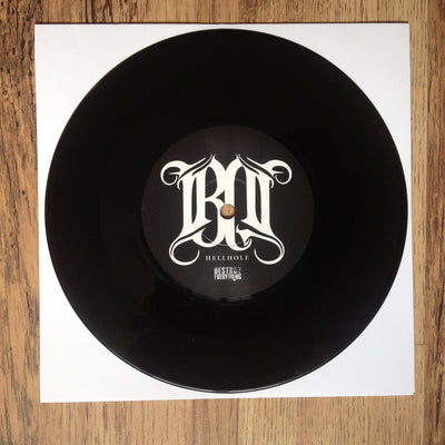 "BLACK DOGS - HellHole / Ruiner (7"" Vinyl Single)"