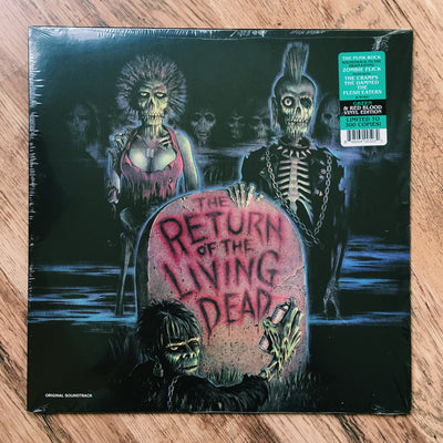 "RETURN OF THE LIVING DEAD - ""Original Soundtrack"" (Ltd. Edition Green/Blood Red Marbled Colour Vinyl LP)"