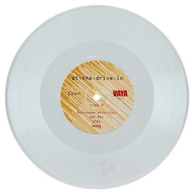 "AT THE DRIVE IN - Vaya (Ltd Edition White Vinyl 10"")"